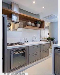Too often people go to extremes with kitchen designs - ultramodern or comfortable, stark and simple or complex and ornate. Kitchen Units, Kitchen Dining, Kitchen Decor, Kitchen Cabinets, Living Room Designs, Living Room Decor, Minimalist Kitchen, Interior Design Kitchen, Kitchen Designs