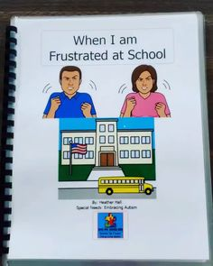 Social Story: When I Am Frustrated at School Social Stories Autism, Social Skills Autism, Social Skills Activities, Teaching Social Skills, Autism Activities, Teaching Time, Teaching Autistic Children, Phonics Flashcards, Counseling Worksheets