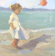 Nancy Franke, Musings on Painting: March 2012 Figure Painting, Painting People, Beach Art, Watercolor Paintings, Beach Paintings, Gouache Painting, Figurative Art, Painting Inspiration, Art For Kids