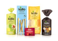 Kallo is launching a packaging re-design across the entire product range. The new packaging has a cleaner look which creates an emphasis on the nutritional values of the product. The packaging's energy now appears to be coming from the actual product instead of a lively illustration.