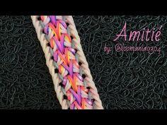 AMITIÉ Hook Only bracelet tutorial - YouTube