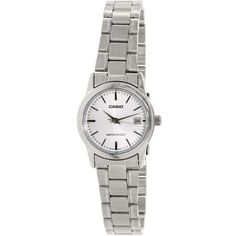 e9d5a2b0a740 Casio Stainless Steel Ladies Watch LTPV002D-7A Acero Inoxidable