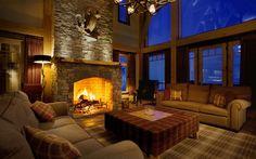 Fireplace!!  Bighorn Revelstoke - British Columbia, Canada