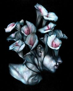 Italian artist Marco Mazzoni has used colored pencils in his work since he was very young. Hi Fructose, Surreal Artwork, Macabre Art, Ap Art, Human Art, Italian Artist, Elements Of Art, Magazine Art, Traditional Art