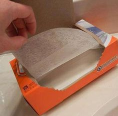 Great Uses for Dryer Sheets 1. Makes bathroom mirrors & fixtures sparkle. Cuts through bathtub scum. 2. Get sticky dust off furniture, blinds & baseboards. 3. Cleans up stove tops & greasy cabinets. 4. Soak paint brushes with warm water & a dryer sheet. The paint come right off. 5. Clean dead bugs off your car. 6. Wipes pet hair off furniture and clothing. 7. Run a dryer sheet over thread before sewing to keep tangles away 8. Keeps mosquitoes away. ***be sure to share to save to your…