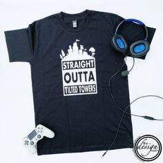 Know a Fortnite lover? Straight outta tilted towers #fortnite #fortnitetee #fortniteaddict #tiltedtowers