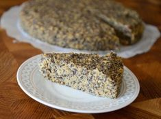 zdravy makovec Healthy Sweets, Healthy Cooking, Desert Recipes, Fitness Diet, Sweet Recipes, Banana Bread, Deserts, Food And Drink, Baking