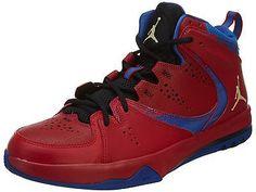 36b5d021d0f03c Nike Jordan Phase 23 II Mens 602671-607 Red Blue Gold Basketball Shoes Size  11.5