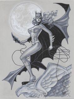Batgirl by MichaelDooney.deviantart.com on @deviantART