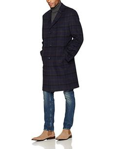 """Notch lapel with a center vent by tommy hilfiger. Barnes single breasted walker coat       Famous Words of Inspiration...""""I find it rather easy to portray a businessman. Being bland, rather cruel and incompetent comes naturally to me.""""   John...  More details at https://jackets-lovers.bestselleroutlets.com/mens-jackets-coats/wool-blends-mens-jackets-coats/product-review-for-tommy-hilfiger-mens-barnes-single-breasted-walker-coat-2/"""