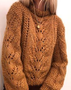 Ravelry: Elisabeth sweater pattern by Siv Kristin Olsen Knitting Kits, Sweater Knitting Patterns, Knit Patterns, Winter Sweaters, Sweaters For Women, Chunky Oversized Sweater, Pulls, Knitwear, Knit Crochet