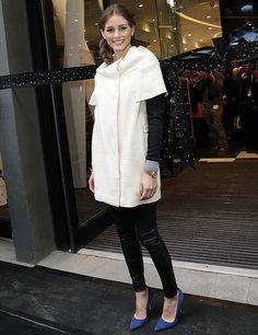 Blanco y negro, Olivia Palermo en Londres