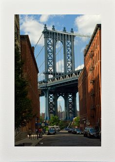 Brooklyn Note Cards Blank Cards DUMBO Photo by FineArtStreetPhotos
