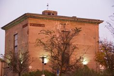 Das Kulturzentrum Bunker-D auf dem Campus der FH Kiel.
