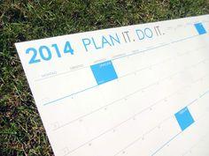 Jahreskalender mit Style   PLANDO.CH