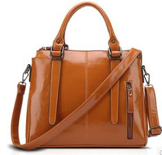 2015 new style pu shoulder bag Genuine Leather Women's Handbags