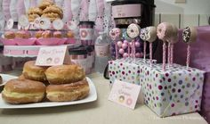 Donuts Baby Shower Party Ideas | Photo 33 of 33 | Catch My Party