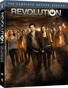 Season 2 of Revolution out on DVD on August 19!!