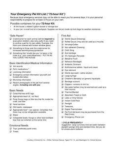Printable Emergency Contact Sheet  ThelovebugsblogBlogspotCom
