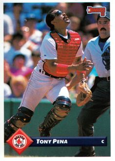 still celebrating this quirky & compelling game, as well as its fans and its players. and my utterly worthless baseball cards. Hockey Cards, Baseball Cards, Boston Red Sox Players, Red Sox Nation, Trading Cards, Catcher, Mlb, Football, Random