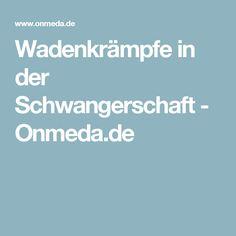Wadenkrämpfe in der Schwangerschaft - Onmeda.de
