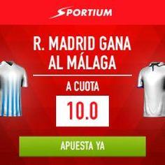 el forero jrvm y todos los bonos de deportes: Supercuota 10 sportium Real Madrid gana Malaga + 2...