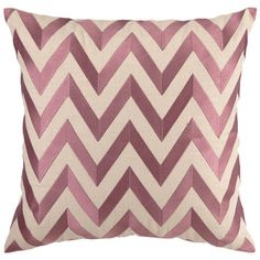 I pinned this D.L. Rhein Zig Zag Pillow in Orchid from the Colorwheel event at Joss and Main!