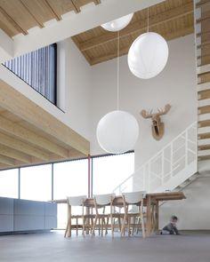 Verschillende hoogtes plafonds - Huize Looveld/Studio Puisto Architects Bas van Bolderen Architectuur