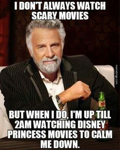 The side effect of scary movies