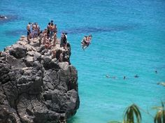 Hawaii, Cliff Jump