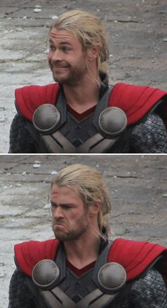 "*someone waves* (Thor) ""hello Midgardian! I am Thor son of Od- (person) ""oh uh sorry bro...wasn't waving to you."""