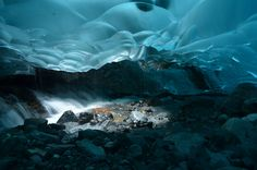 Mendenhall Ice Caves, Juneau, Alaska And the TOP 10 MISS BEAUTIFUL PLACES YOU NEED TO SEE❤️❤️❤️❤️ THEY ARE STUNNING