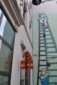 Street art in Bruxelles - Belgium