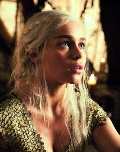 Daenerys Game of Thrones...if I was Lesbian she'll be my soulmate so damn hot!