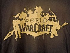 World Of Warcraft T Shirt XL Video Game Fantasy WOW Rare Black JINX Extra Large #BlizzardEntertainment #GraphicTee
