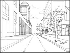 First Class: Focus on Linear Perspective | VISA Urban Sketching