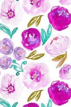 Purple Wallpaper, Flower Wallpaper, Pattern Wallpaper, Fabric Wallpaper, Trendy Wallpaper, Pretty Backgrounds, Wallpaper Backgrounds, Iphone Wallpaper, New Wall