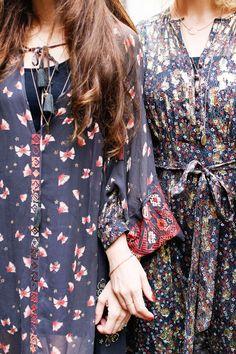 London Fashion Week Outfits - Belle & Buntyfashion week, London, outfits, bloggers, fall, bohemian, dresses, jackets, booties, handbags