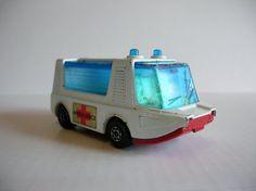 Vintage Toy Car - Lesney Matchbox Superfast No 489 Stretcha Fetcha Ambulance on Etsy, $3.20