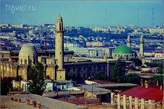 Старый Баку - город минаретов и балконов