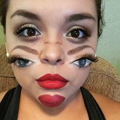 double vision halloween makeup jackiemarie halloweenmakeup