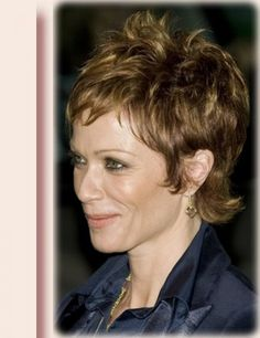 Short Hair Styles For Women Over 40   Short Hairstyles and Color Ideas for Women Over 40