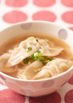 スープ餃子 のレシピ・作り方 │ABCクッキングスタジオのレシピ   料理教室・スクールならABCクッキングスタジオ