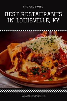 Best Restaurants in Louisville including menus, locations, hours, and some top dishes to check out. Your one stop for the top restaurant destinations. Brown Hotel Louisville, Louisville Restaurants, Kentucky Attractions, Louisville Kentucky, Mexican Burger, Starting A Food Truck, Cuban Cuisine, Brunch, My Best Recipe