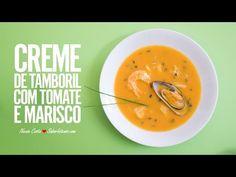 Creme de Tamboril com Tomate e Marisco | SaborIntenso.com