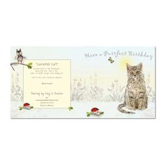Cat Birthday Card: Purrfect Birthday, Unique Greeting Cards, Quality Birthday Cards and Luxury Christmas Cards by Paradis Terrestre