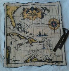 Pirate Map by mellsmiscellaneous on Etsy, $15.00