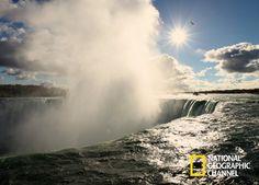 Descubra os lugares naturais mais fascinantes do mundo. Cataratas do Niágara. Nat Geo. #NatGeo   Confira conteúdo exclusivo no www.foxplay.com