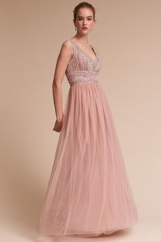 83a23fad595 BHLDN Sterling Dress in Bridal Party Bridesmaid Dresses Blush