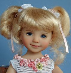 Dianna Effner Little Darling 3 Painted by Joyce Mathews of Kuwahi Dolls   eBay